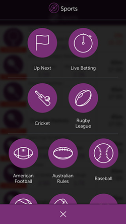 CrownBet Mobile App Image