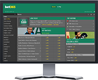 Bet365 Website Preview