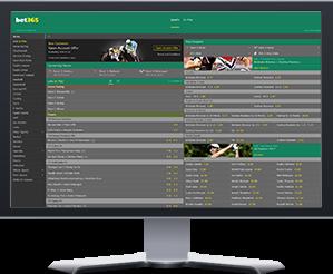 Bet365 Website Preview
