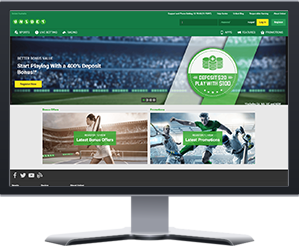 Unibet Website Preview