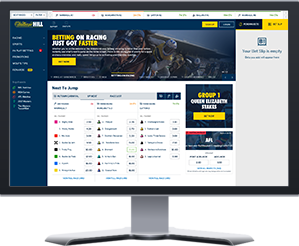 William Hill Bookmaker Screenshot