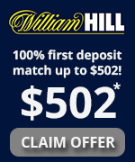 William Hill Bonus Offer