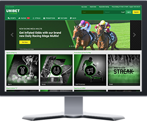 Unibet Bookmaker Screenshot