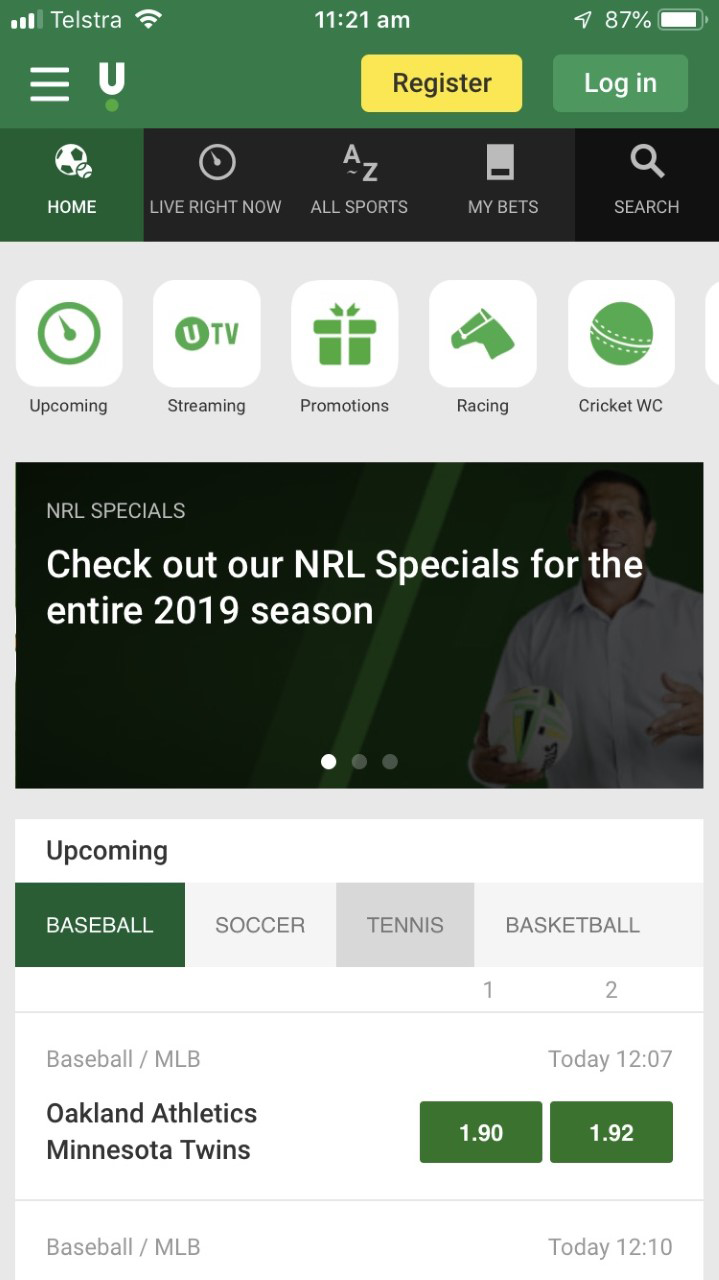 Unibet Mobile App Image
